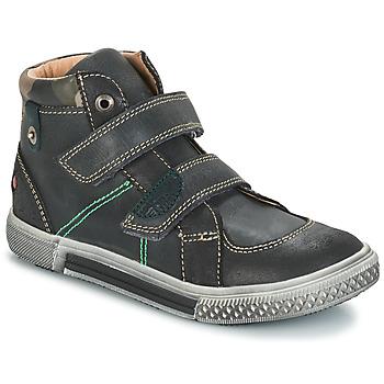 Scarpe Bambino Sneakers alte GBB RANDALL Grigio