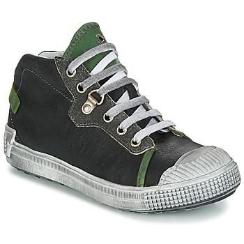 Scarpe Bambino Sneakers alte GBB RONALD Grigio / Verde