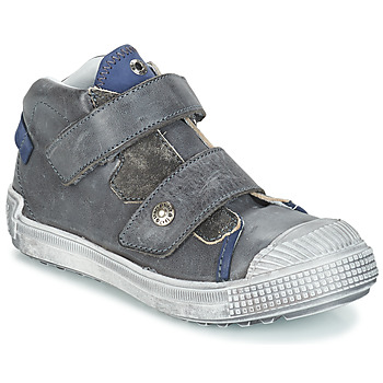 Scarpe Bambino Sneakers alte GBB ROMULUS Grigio / Blu