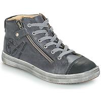 Scarpe Bambino Sneakers alte GBB NICO Grigio