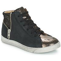 Scarpe Bambina Sneakers alte GBB CARLA Nero / Bronzo