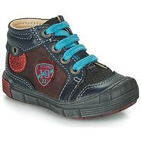 Scarpe Bambino Sneakers alte Catimini ROCOU Marine / Bordeaux