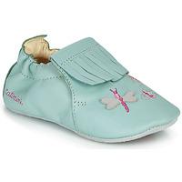 Scarpe Bambina Pantofole Catimini RHIZINE Verde / Acqua
