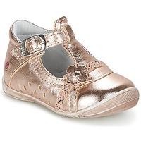 Scarpe Bambina Ballerine GBB SIXTINE Rosa / Dore