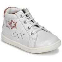 Scarpe Bambina Sneakers alte GBB SABBAH Bianco