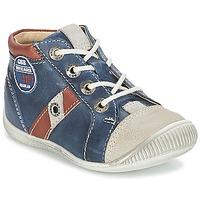 Scarpe Bambino Sneakers basse GBB SILVIO Marine / Marrone