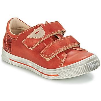 Scarpe Bambino Sneakers basse GBB SEBASTIEN Rosso