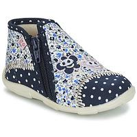 Scarpe Bambina Pantofole GBB PILI Blu / Bianco