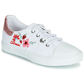 Scarpe Bambina Sneakers basse Catimini SAXIFAGE Bianco