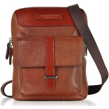 Borse Uomo Bisacce The Bridge THE BRIDGE BORSA MESSENGER UOMO 0529172F75          MARRONE