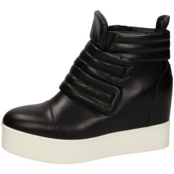 Scarpe Donna Sneakers alte Albano 1465 Nero