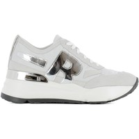 Scarpe Donna Sneakers basse Rucoline RUCO LINE SNEAKERS DONNA 4009FENZYBIANCO          ARGENTO/BIANCO