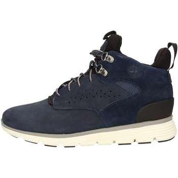 Scarpe Bambino Sneakers alte Timberland CA1JD6 POLACCHINO Bambino BLU BLU