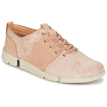 Scarpe Donna Sneakers basse Clarks TRI CAITLIN Rosa