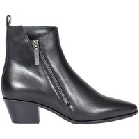 Scarpe Donna Stivali Saint Laurent STIVALETTO CON ZIP Nero