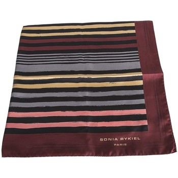 Accessori Donna Cappelli Sonia Rykiel Foulard seta righe multicolor Multicolor
