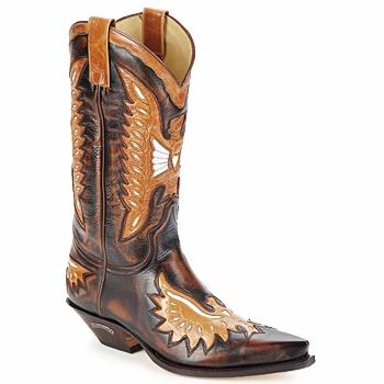 Scarpe Uomo Stivali Sendra boots CHELY Marrone