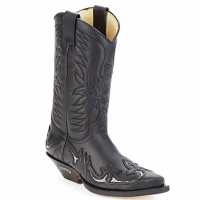 Scarpe Stivali Sendra boots CLIFF Nero