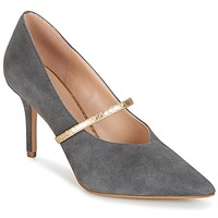 Scarpe Donna Décolleté KG by Kurt Geiger V-CUT-MID-COURT-WITH-STRAP-GREY Grigio