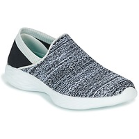 Scarpe Donna Slip on Skechers YOU Nero / Bianco
