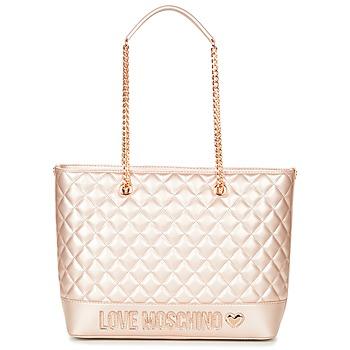 Borse Donna Tote bag / Borsa shopping Love Moschino JC4003PP15 Rosa / Oro