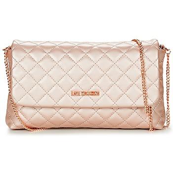 Borse Donna Tracolle Love Moschino JC4098PP15 Rosa / Oro