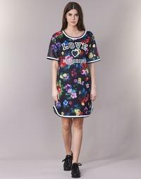 Abbigliamento Donna Abiti corti Love Moschino W5A0302 Nero / Multicolore