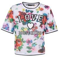 Abbigliamento Donna Top / Blusa Love Moschino W4G2801 Bianco / Multicolore