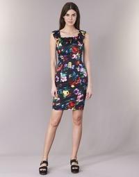 Abbigliamento Donna Abiti corti Love Moschino WVG3100 Nero / Multicolore