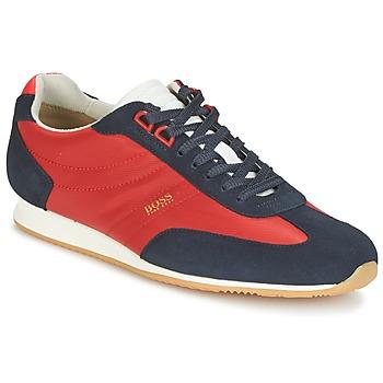 Scarpe Uomo Sneakers basse Hugo Boss Orange ORLANDO LOW PROFILE Rosso / Marine