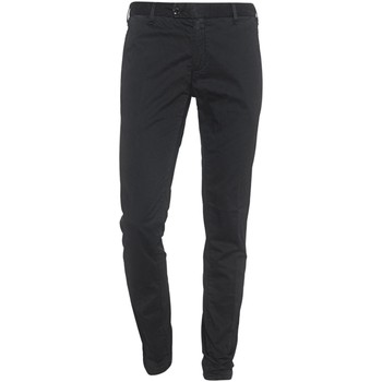 Abbigliamento Uomo Pantaloni 5 tasche Myths 17M08L Nero