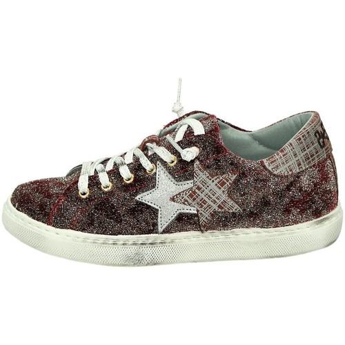 2star 2S1654 Sneakers Basse Donna Bordeau Bordeau - Scarpe Sneakers basse Donna 60,00