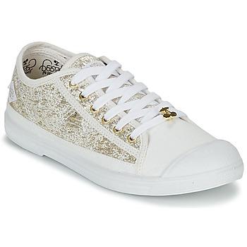 Scarpe Donna Sneakers basse Le Temps des Cerises BASIC 02 Oro