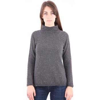 Abbigliamento Donna Maglioni White.7 MAGLIA IN LANA CON PAILLETTES Grey