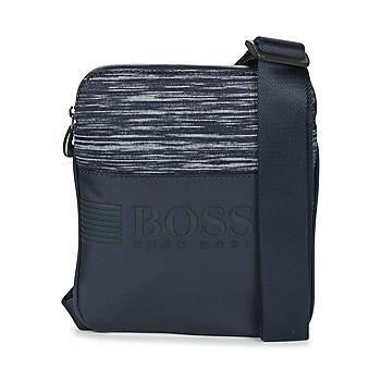 Borse Uomo Pochette / Borselli Hugo Boss Green PIXEL K S ZIP Marine