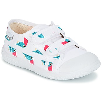 Scarpe Bambina Sneakers basse Citrouille et Compagnie RIVIALELLE Bianco