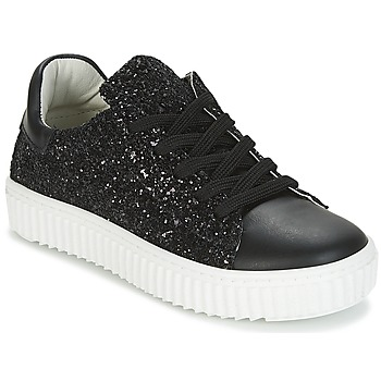Scarpe Bambina Sneakers basse Citrouille et Compagnie ITINGOES Nero