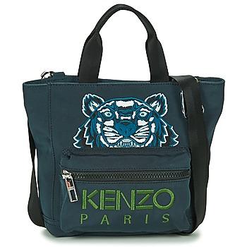 Borse Donna Tote bag / Borsa shopping Kenzo KANVAS TIGER MINI TOTE Grigio