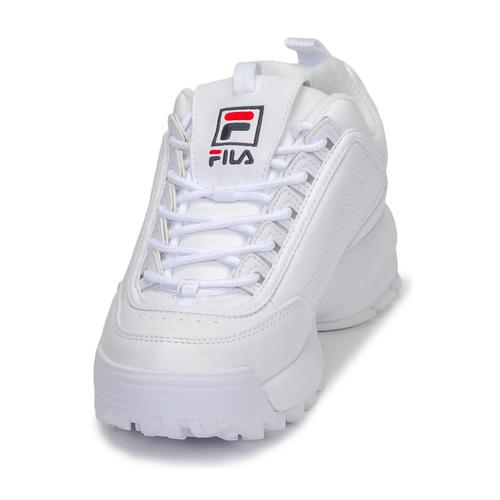 Low Bianco Basse Sneakers Wmn Fila Disruptor Scarpe zHqE7P