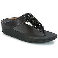 Scarpe Donna Infradito FitFlop CHA-CHA TOE-THONG SANDALS CRYSTAL Nero