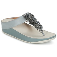 Scarpe Donna Infradito FitFlop CHA-CHA TOE-THONG SANDALS CRYSTAL Blu