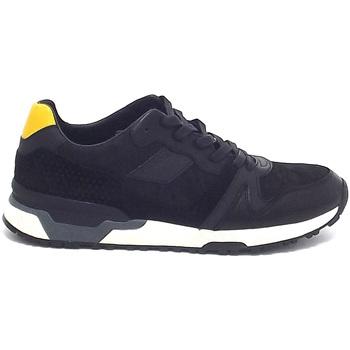 Scarpe Uomo Sneakers basse Crime London uomo, 11702, sneakers pelle e camoscio nero A7102 0