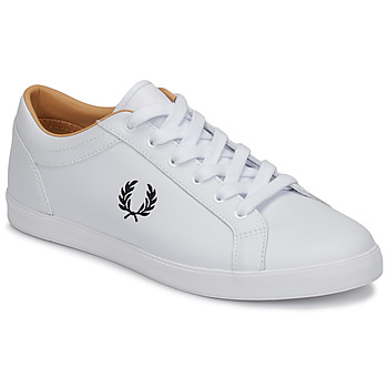 Scarpe Uomo Sneakers basse Fred Perry BASELINE LEATHER Bianco