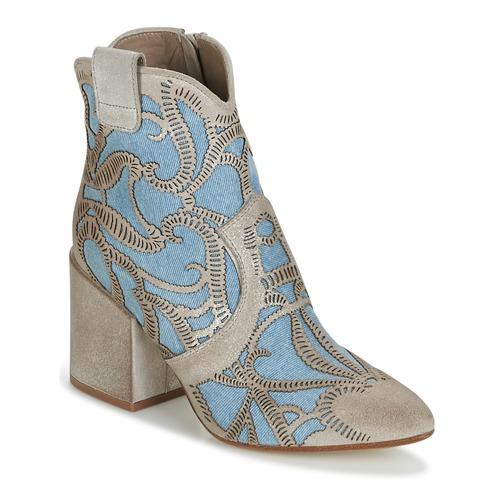 Now MOVIDA Beige / Jeans  Scarpe Stivaletti Donna 244,30