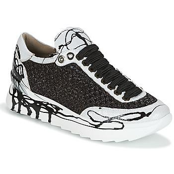 Scarpe Donna Sneakers basse Now CARK Nero / Bianco