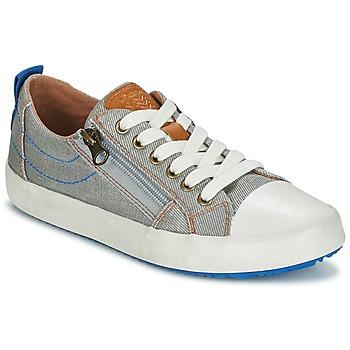 Scarpe Bambino Sneakers basse Geox J ALONISSO B. D Grigio / Blu