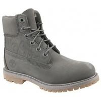 Scarpe Donna Stivaletti Timberland 6 In Premium Boot W grigio