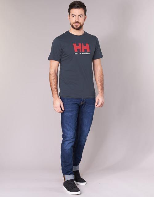 Corte shirt Logo Marine T Maniche Hansen Hh Helly Ivmf7gy6Yb