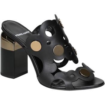 Scarpe Donna Sandali Pierre Hardy Sandali tacco alto  in pelle di vitello nero