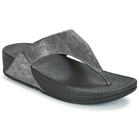 Scarpe Donna Sandali FitFlop LULU TOE-THONG SANDALS Silver
